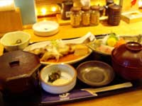 日本海庄や 煮魚刺身御膳