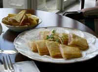 クロックムッシュ(チーズとハムのホットサンド)