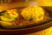 ハンバーグステーキスイス風