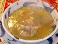 牛王名物 テールスープ