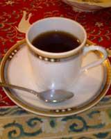 牛王 食後のコーヒー