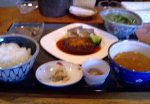 「皿田」のランチ