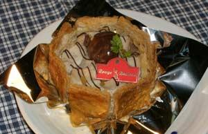 「和栗のデザート」