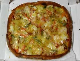 ミサロッソ シーフードピザ