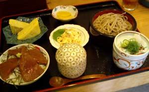 吉良家 そば定食(昼)