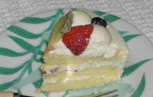 ガスライト参番館のケーキ