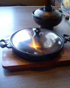 びっくりドンキー 鍋焼きバーグ