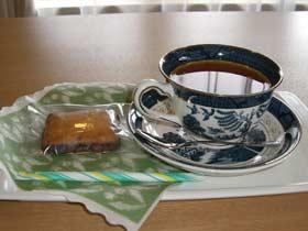 夢二郷土美術館内喫茶「松香」でティータイム