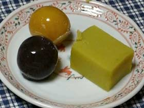 あんこ玉 小豆と杏