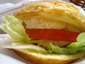 モスバーガー ツナとトマトのデニッシュサンド