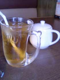 びっくりドンキー 白毫ウーロン茶(アイス)