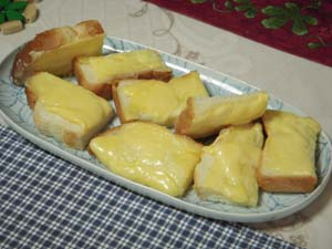 メイゴーダチーズのチーズトースト