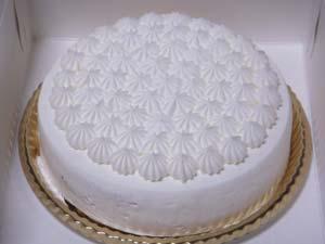 モロゾフ 白いクリスマスケーキ