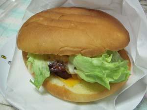 ロン京町店 チーズグリルチキンバーガー