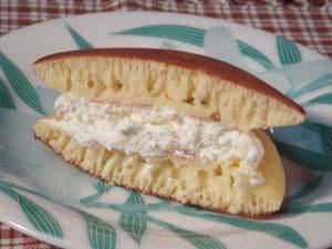 マスカルポーネチーズどら焼