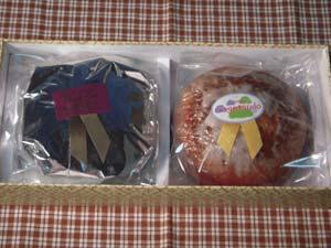 風月堂 ケーキ2種