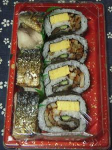 滋賀「団十郎」鯖押し寿司と巻き寿司