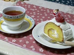 岡村製菓 クリスマスロール