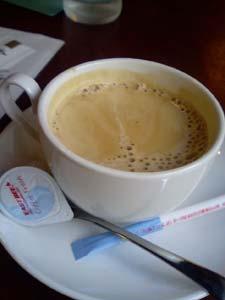 ガスライト参番館 食後のコーヒー
