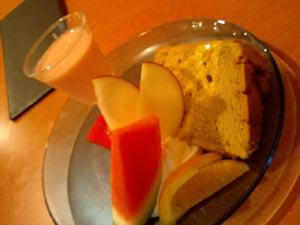cafe sofa 食後のデザート