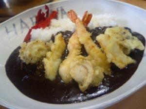 カレーハウスHARUNA 海鮮天ぷらカレー