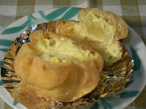 岡村製菓のシュークリーム