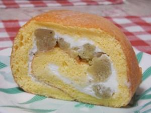 アンクルベアーのマロンロールケーキ