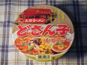 ニュータッチ 札幌ラーメンどさん子味噌ラーメン