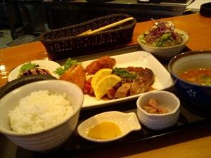 皿田のランチ