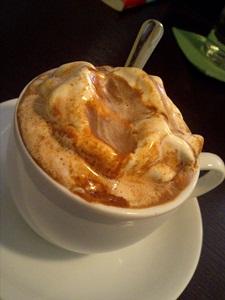 喫茶ジジ ホットチョコレート
