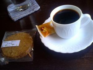喫茶ジジ デミタスコーヒー