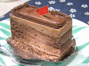 菓子司うえだ チョコレートケーキ
