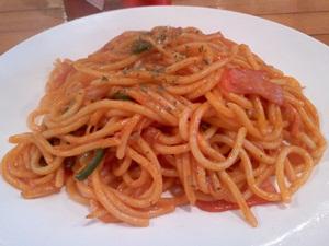 多珈房のスパゲティ