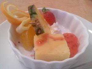 カリーノのランチ デザート