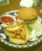白バラのハンバーガー